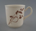 Cup - Wild Wheat pattern; Crown Lynn Potteries Limited; 1981-1983; 2009.1.786