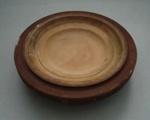 Ram press mould - plate; Crown Lynn Potteries Limited; 1970-1989; 2009.1.1148