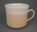 Cup - banded; Crown Lynn Potteries Limited; 1984-1989; 2008.1.1731