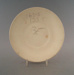 Saucer - bisque; Crown Lynn Potteries Limited; 1975-1989; 2009.1.1273