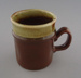 Mug - banded; Titian Potteries (1965) Limited; 1978-1985; 2009.1.585