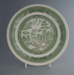 Dinner plate - trial; Crown Lynn Potteries Limited; 1983-1989; 2009.1.311