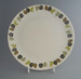 Dinner plate - Green Gables pattern; Crown Lynn Potteries Limited; 1965-1975; 2009.1.320