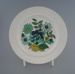 Bread and butter plate - Carissima pattern; Crown Lynn Potteries Limited; 1969-1979; 2009.1.1032