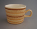 Cup - banded; Crown Lynn Potteries Limited; 1976-1989; 2008.1.2381