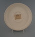 Saucer - bisque; Crown Lynn Potteries Limited; 1973-1989; 2009.1.1320