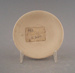 Butter pat - bisque; Crown Lynn Potteries Limited; 1964-1980; 2009.1.1267