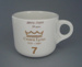 Cup - staff service commemorative; Crown Lynn Potteries Limited; 1988-1989; 2008.1.1879