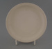 Bread and butter plate - bisque; Crown Lynn Potteries Limited; 1970-1989; 2009.1.270