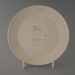 Bread and butter plate - bisque; Crown Lynn Potteries Limited; 1980-1989; 2009.1.1162