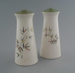 Salt and pepper shakers - Green bamboo pattern; Crown Lynn Potteries Limited; 1963-1970; 2009.1.806.1-2