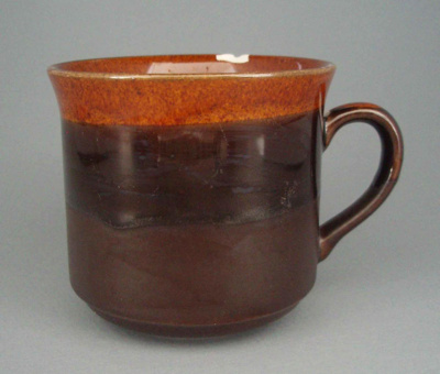 Cup - trial; Crown Lynn Potteries Limited; 1984-1989; 2008.1.1732