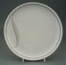Dinner plate - Duet pattern; Crown Lynn Potteries Limited; 1986-1988; 2008.1.106