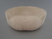 Horseshoe ashtray - bisque; Crown Lynn Potteries Limited; 1984-1989; 2009.1.1135