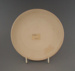 Bread and butter plate - bisque; Crown Lynn Potteries Limited; 1969-1989; 2009.1.1329