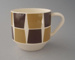 Cup - Trend pattern; Crown Lynn Potteries Limited; 1965-1975; 2009.1.932