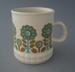 Mug - floral; Titian Potteries (1965) Limited; 1971-1979; 2009.1.796