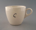 Cup - trial; Crown Lynn Potteries Limited; 1980-1989; 2009.1.1571