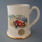 Beer stein - racing car; Titian Studio; 1958-1965; 2008.1.1826