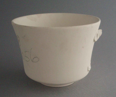 Cup - bisque; Crown Lynn Potteries Limited; 1981-1989; 2008.1.1233