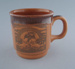 Mug - John Edwards silk dyer; Crown Lynn Potteries Limited; 1978-1989; 2009.1.789