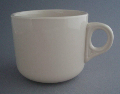 Cup; Crown Lynn Potteries Limited; 1980-1989; 2008.1.1509