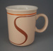 Mug -Abstract; Crown Lynn Potteries Limited; 1984-1989; 2009.1.529