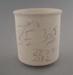 Mug - bisque; Crown Lynn Potteries Limited; 1984-1989; 2009.1.848