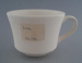 Cup - bisque; Crown Lynn Potteries Limited; 1981-1989; 2009.1.334