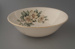 Salad bowl - floral; Crown Lynn Potteries Limited; 1960-1970; 2009.1.983
