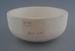 Soup bowl - bisque; Crown Lynn Potteries Limited; 1972-1985; 2009.1.335