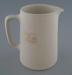 Jug - bisque; Crown Lynn Potteries Limited; 1945-1989; 2009.1.392