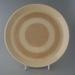 Dinner plate - Galaxy pattern; Crown Lynn Potteries Limited; 1971-1985; 2009.1.732