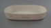 Dish - bisque; Crown Lynn Potteries Limited; 1972; 2009.1.1141