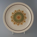 Dinner plate - Camelot pattern; Crown Lynn Potteries Limited; 1977-1985; 2009.1.730