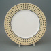Dinner plate - Florence pattern; Crown Lynn Potteries Limited; 1988-1989; 2008.1.115