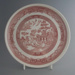 Dinner plate - trial; Crown Lynn Potteries Limited; 1982-1989; 2009.1.316