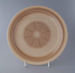 Dinner plate; Crown Lynn Potteries Limited; 1965-1975; 2009.1.729