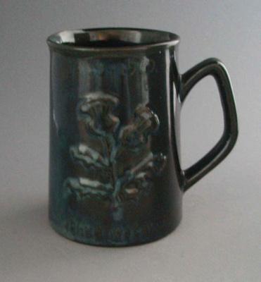 Beer mug - John Reid & Co. Ltd; Luke Adams Pottery Limited; 1969-1970; 2008.1.1274