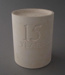 Plaster model - pen pot; Crown Lynn Potteries Limited; 1985-1989; 2009.1.700