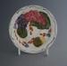 Saucer - Fleurette pattern; Crown Lynn Potteries Limited; 1959-1979; 2008.1.2603