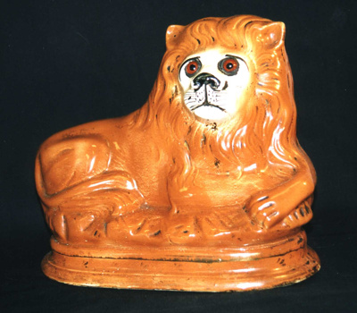 Lion figurine, 1999.46