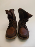 Brown Leather Boots; SGHT.2013.23