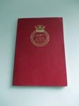 HMS Endurance 1981-82 Deployment Book; SGHT.2013.8