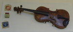 Violin with case and accessories; Josef Klotz; SGHT.2010.12