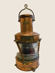 Anchor lantern; C. P. Grimley & Sons; 1943; SGHT.2012.26