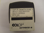 Postmasters' stamp; SGHT.2011.30