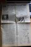 1982 Edition of Daily Telegraph; Daily Telegraph; 26th April 1982; SGHT.2013.54