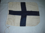 Flag with blue cross; SGHT.2010.10