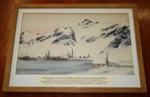 Watercolour of Grytviken. ; 1927; SGHT.2007.3